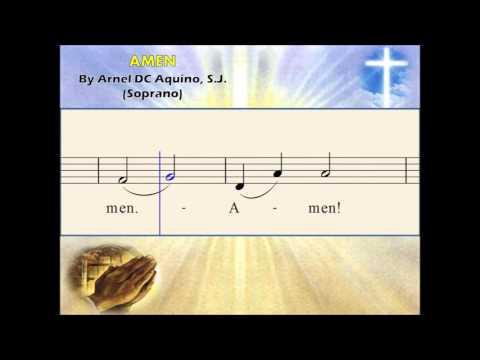 C03a Amen - by Arnel Aquino 2011 (Soprano)