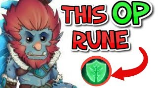 THIS *ONE* RUNE MAKES TRUNDLE BROKEN! || Trundle Support [7.22]