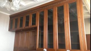 Кабинет библиотека шириной 4.7 м.