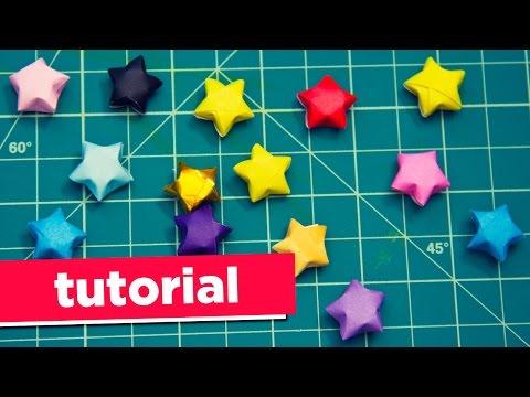 Origami Paper Stars | Tutorial