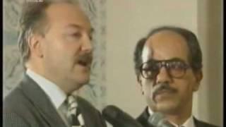 George Galloway when he met Saddam Hussein
