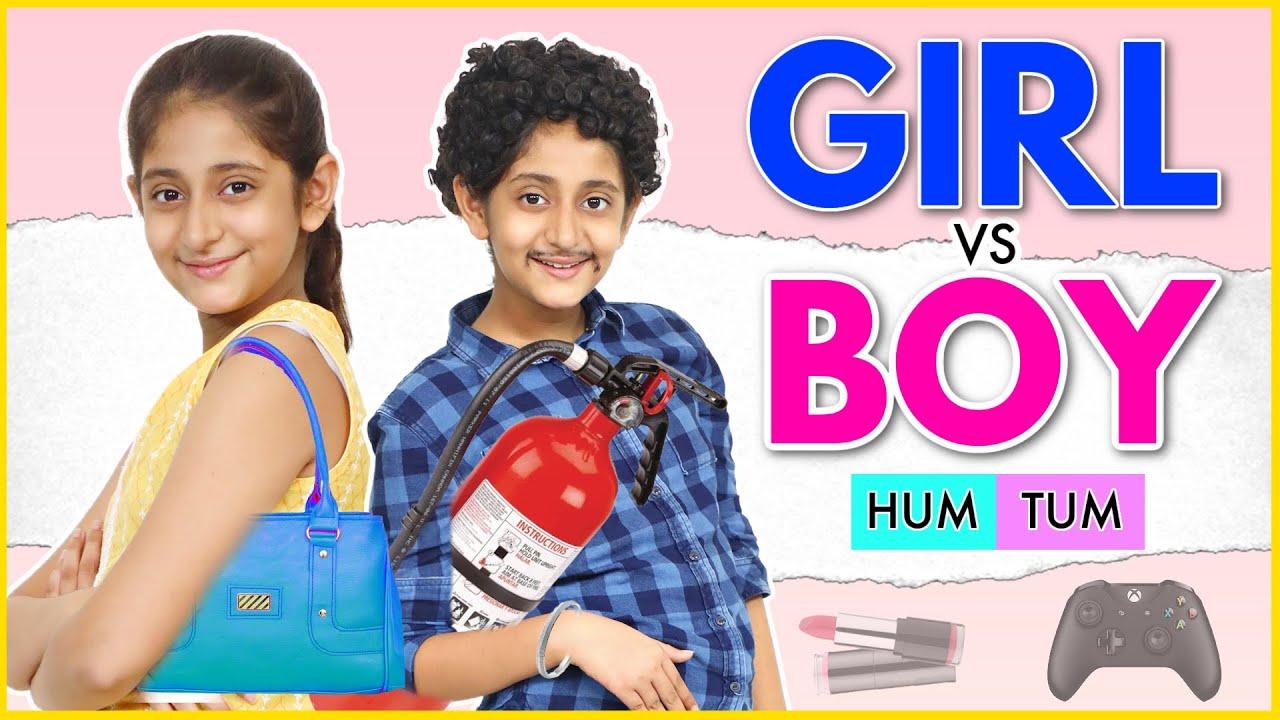 Download HUM TUM   Boys vs Girl   A FAMILY Drama   MyMissAnand