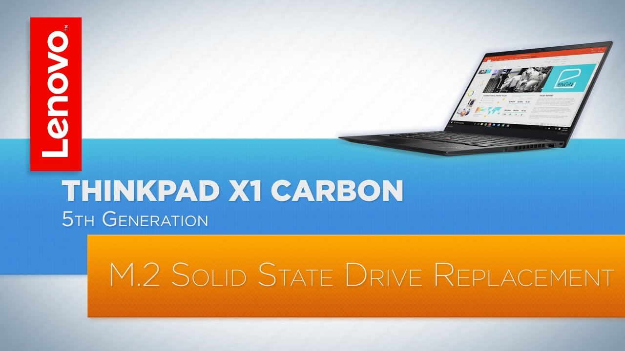 ThinkPad X1 Carbon (5th and 6th Generation) Laptop - Wireless LAN Card  Replacement