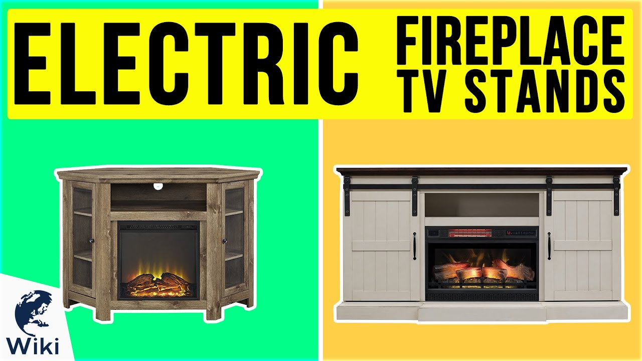 10 Best Electric Fireplace TV Stands 2020