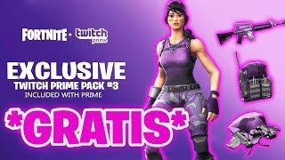 *NEU* KOSTENLOSES TWITCH PRIME PACK 3 CONCEPT! 😱 (so gehts) | Fortnite Twitch Prime Pack 3 Concept