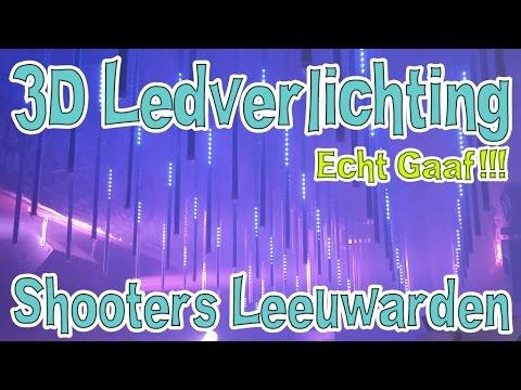 3d ledverlichting bij shooters leeuwarden
