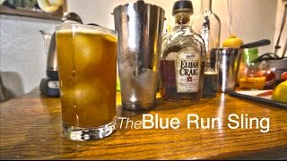 How to Make the Blue Run Sling Cocktail from Death & Co in NYC