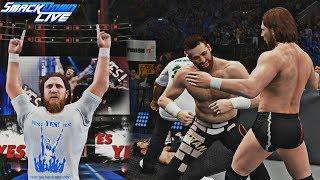 WWE 2K18: Daniel Bryan 2018 Updated Hair, Beard & Shirt Attire feat. KO, Sami Zayn & Shane McMahon!