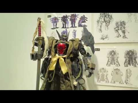 ThreeZero Toy Exhibition at Pixiv Gallery in Tokyo, Japan