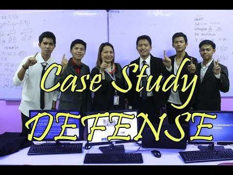 Case Study DEFENSE(How to pass your defense)