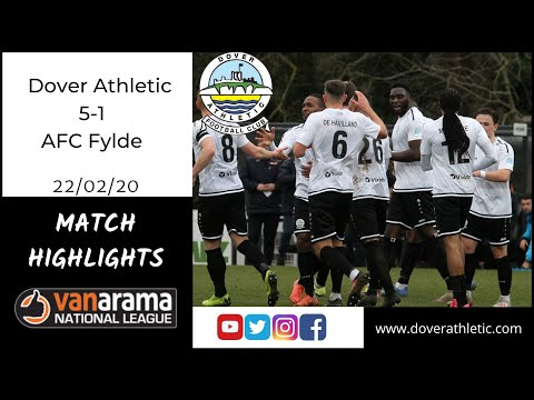 Dover Ath. Fylde Goals And Highlights