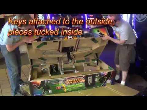 Let's Unbox A World Tour Foosball (Arcade Heroes)
