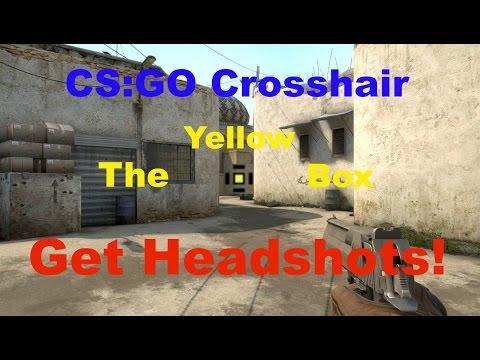 CS:GO Headshot Crosshair Tutorial: The Yellow Box (HD ...