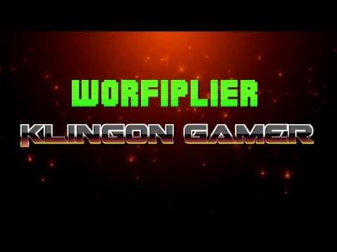 Worfiplier Klingon Gamer Teaser