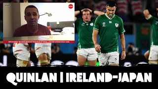 Alan Quinlan: 'We hyped it up, not the players!' | Ireland vs Japan fallout