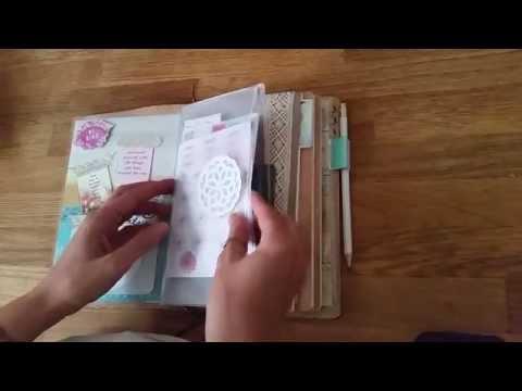 Wide Midori-Style Traveler's Notebook Setup