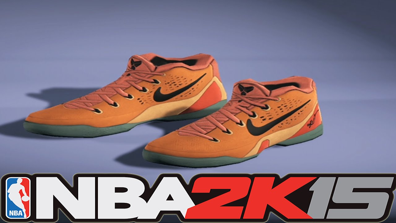 cccd4fb9b244 NBA2K15 Next Gen Shoes - Nike Kobe 9 EM Bright Mango - YouTube