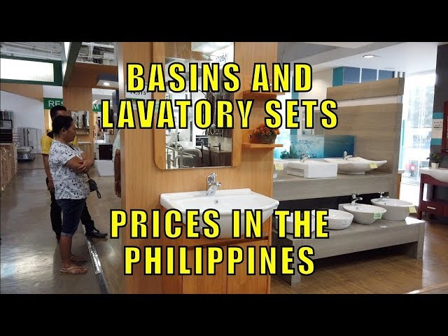 Basin And Lavatory Sets Prices In The Philippines Youtube