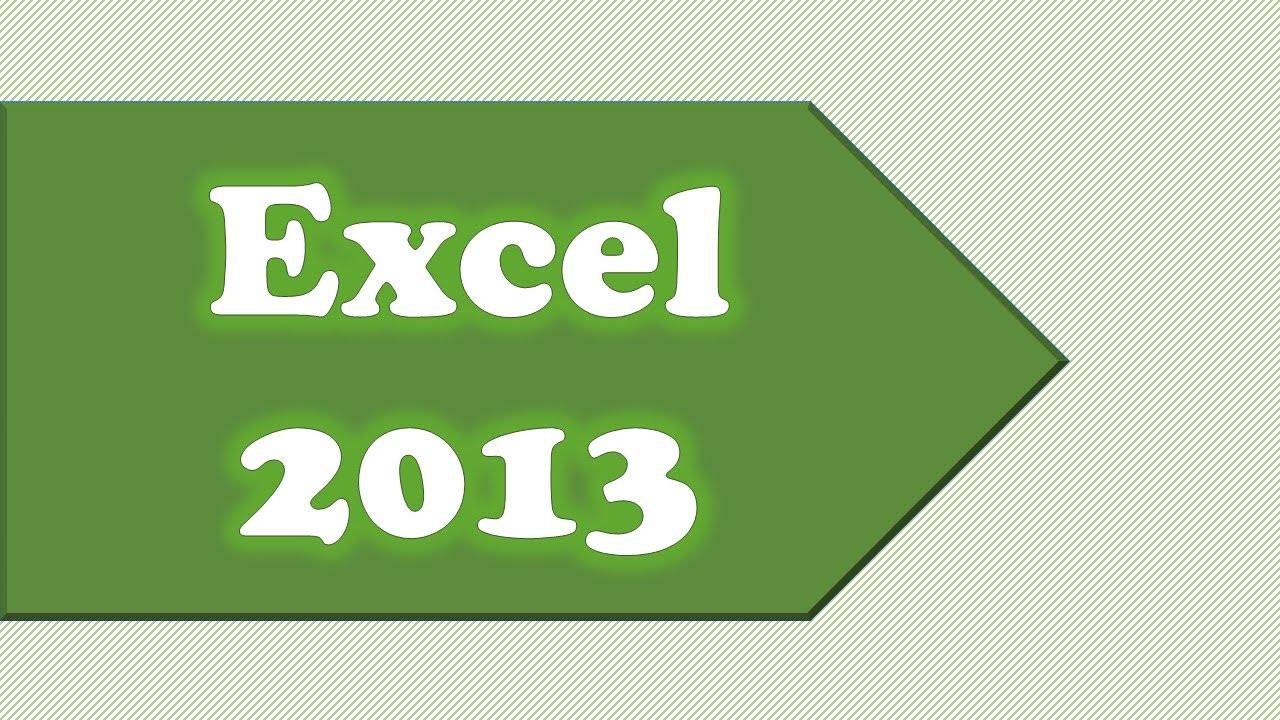 Ribbon Drop Down Menus in Excel 2013