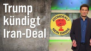 Donald Trump kündigt Atomabkommen mit Iran