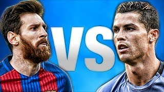 Ronaldo vs messi 2018 • crazy goals & skills hd