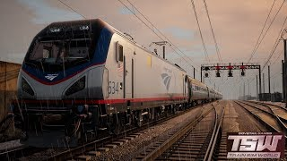 Train Sim World  NEC New York  Boston - Newark