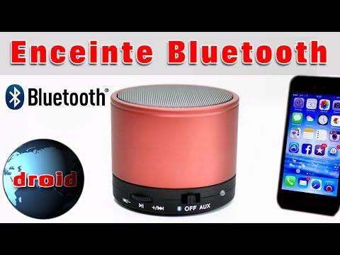 Enceinte Bluetooth mini sans fil pour portable et tablette android.