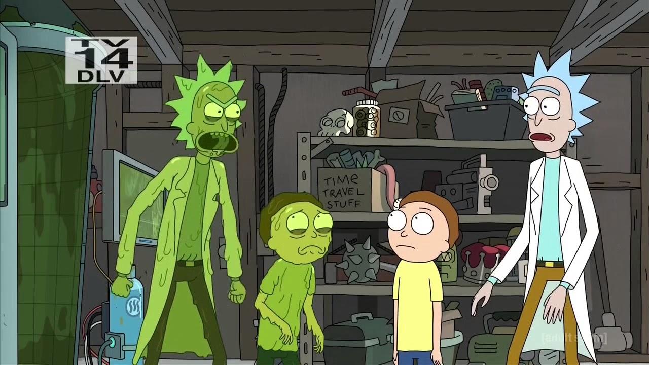 Download Rick And Morty - Rick Vs Evil Rick Fight Scene
