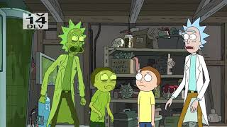 Rick And Morty  Rick Vs Evil Rick Fight Scene
