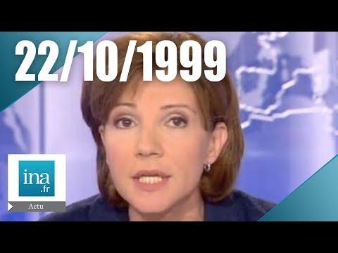 20 France 2 du 22 octobre 1999 - Arrestation de Maurice Papon - Archive INA