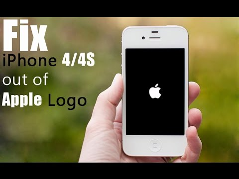 iphone 4 stuck on apple logo how to fix iphone 4 4s stuck on apple logo screen 19293