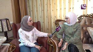 لقاء الطالبة ياسمين هيثم سعادة 99.6 الفرع العلمي – نابلس
