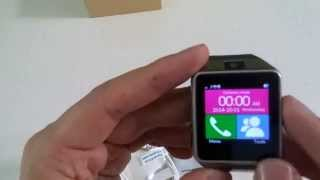 Review NeWisdom GV08 smart watch for android Phone