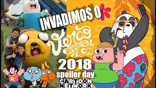Invadimos la DIVERSIÓN del VERANO de dibujos ANIMADOS para el año 2018 - Disfrutar de las atracciones y de las sorpresas de #Spoylerday #EscolaDeGames