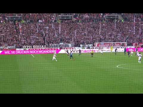 VfB vs. HSV - 76.': Chance Akolo (2018 live @ Mercedes-Benz Arena - Stuttgart)