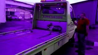 Электрическая лебедка для эвакуатора Come up DV-12 (12000) 24V(Подробнее о лебедке: http://www.a-shop.su/shop/?id=204., 2013-09-28T08:40:26.000Z)