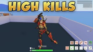 TRAINING FOR HIGH KILLS IN LOBBY (ROBLOX FORTNITE!)