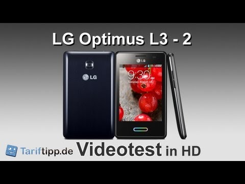 LG Optimus L3 2 | Test in HD (deutsch)