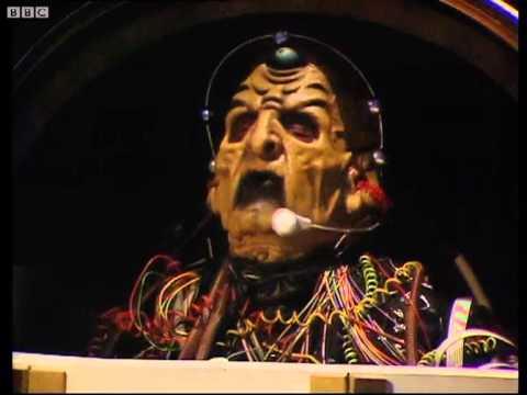 The Emperor Dalek is unmasked