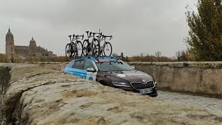 Salamanca da la salida al fin de semana decisivo de La Vuelta