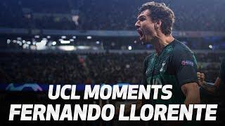BEST UEFA CHAMPIONS LEAGUE MOMENTS  FERNANDO LLORENTE
