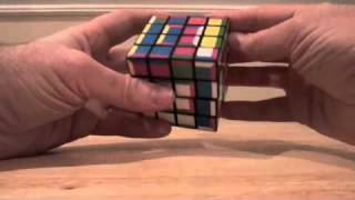 4x4x4 supercube layer by layer tutorial part 3b: More middle rotations