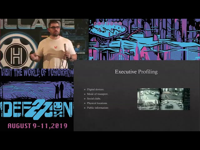 DEF CON 27 Social Engineering Village - Wayne Ronaldson - RED TEAMING FROM DOWN UNDER