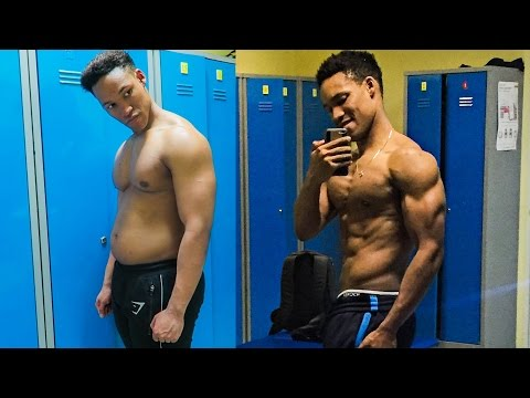 Fat To Shredded STEP BY STEP TRANSFORMATION