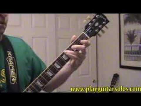 Steely Dan Bodhisattva - Full Lead Guitar Solo
