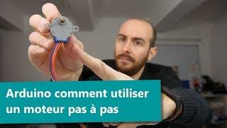 [ Arduino ] comment utiliser un moteur pas à pas ( ULN2003A et 28BYJ-48 )