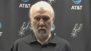 Gregg Popovich Speaks About LaMarcus Aldridge Signing With Brooklyn Nets Before Spurs Take On Bulls