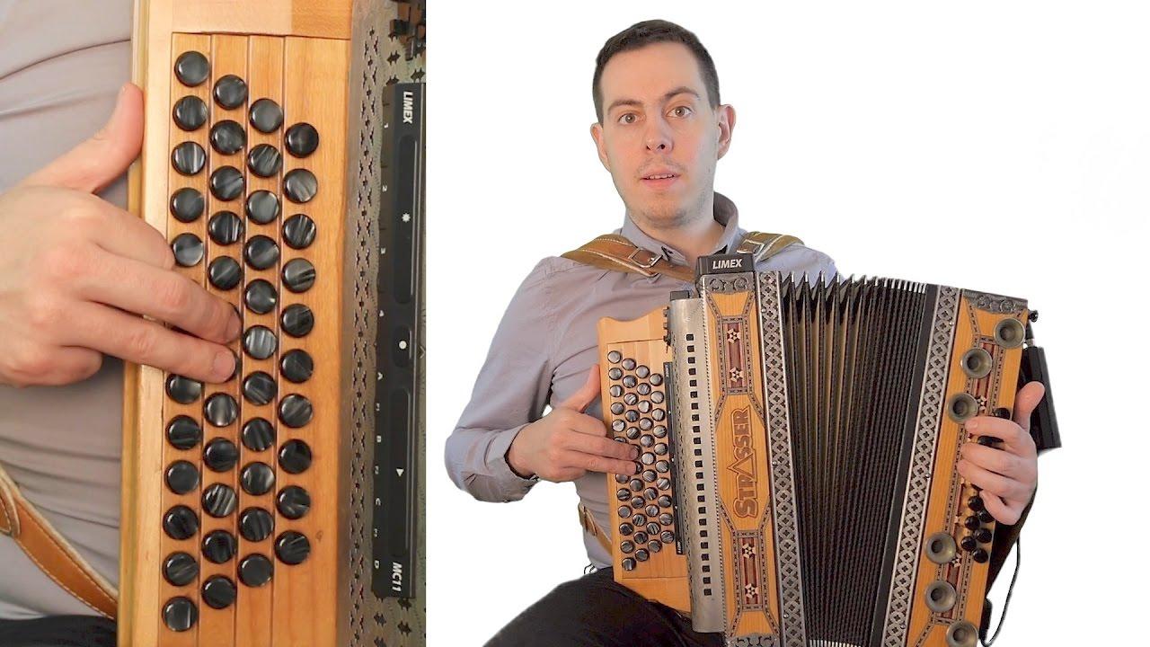 Harmonika lernen online! | Ohne Noten | Ohne Griffschrift