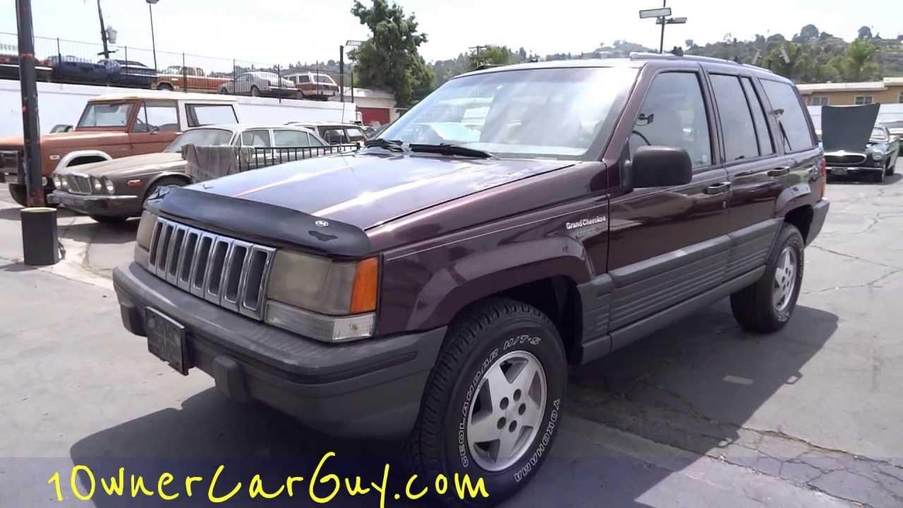 Jeep Grand Cherokee Laredo SUV ZJ 4x4 5.2L V8 Video Review For Sale