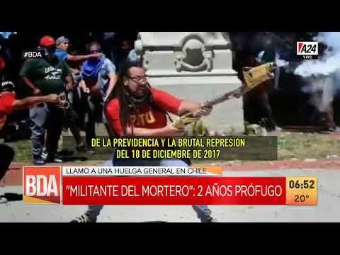 Reapareció el loco del mortero y pidió derrocar a Piñera